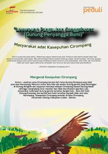 Infografis Kasepuhan Cirompang